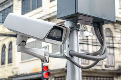 CCTV security camera Royalty Free Stock Images