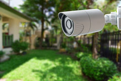 CCTV Security Camera. Safe guard royalty free stock image