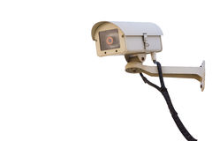 Cctv security camera system isolated Royalty Free Stock Image
