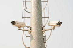 CCTV Security camera Stock Photos