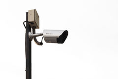 CCTV or security camera Royalty Free Stock Photo