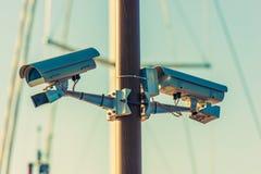 CCTV Security Cameras Royalty Free Stock Photo