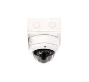 CCTV security isolated white background. Stock Photography