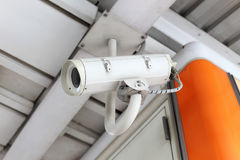 CCTV Security Surveillance. Camera on BTS Stock Images