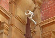 CCTV security video surveillance camera Royalty Free Stock Images