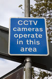 CCTV Sign Stock Images