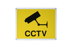 CCTV SIGN Royalty Free Stock Photos