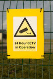 CCTV sign. Royalty Free Stock Photos