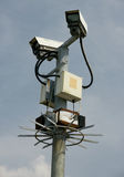 CCTV street camera Stock Photos