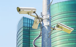 Cctv for surveilance and security Royalty Free Stock Photography
