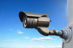 CCTV or surveillance camera Stock Photo