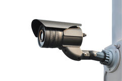 CCTV or surveillance camera Royalty Free Stock Photo