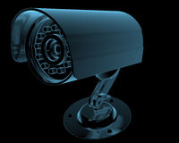 Cctv surveillance camera Royalty Free Stock Photography