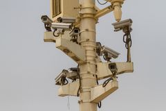 Big brother is watching you royalty free stock images