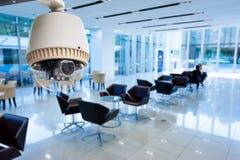 CCTV or surveillance operating Royalty Free Stock Image