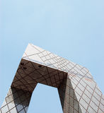 Cctv tower Royalty Free Stock Photography