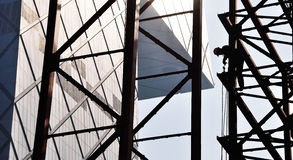 CCTV Tower Construction Stock Images