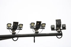 CCTV, Traffic Camera Stock Photo