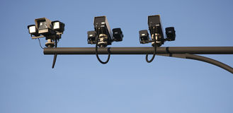 CCTV, Traffic Camera Stock Image