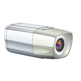 CCTV video camera vector Stock Photos