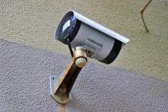 CCTV, videocamera esterna, proprietà Survelliance fotografia stock