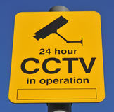 CCTV Warning Sign Stock Images