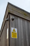 CCTV warning sign. Stock Images