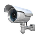 Cctv on white Stock Photography