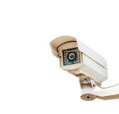 The CCTV. on white isolate background for design security system Stock Photo