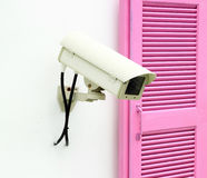 CCTV with window Royalty Free Stock Photography
