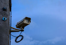 CCTY security camera Royalty Free Stock Photography