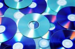 CD、CD-ROM和DVD 免版税库存照片