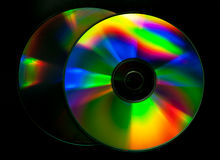CD和DVD盘 免版税图库摄影