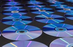 CD或DVD圆盘 库存例证