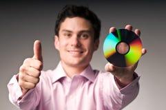 CD的人年轻人 库存图片