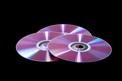 CD的光盘内存 免版税图库摄影