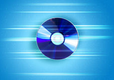 CD的光盘 免版税库存照片