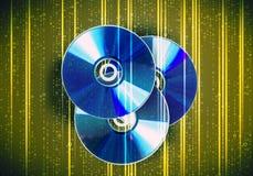 CD的光盘 图库摄影
