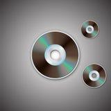 CD的光盘dvd 计算机盘 现实图象 库存图片