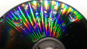 CD的反射 免版税库存图片