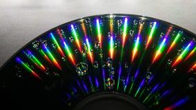 CD的反射 免版税图库摄影