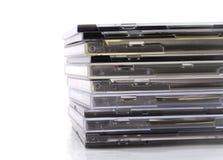 CD的堆 免版税库存照片