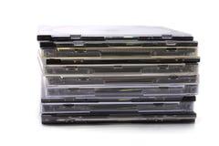 CD的堆 免版税库存图片