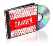 CD的堆 免版税图库摄影
