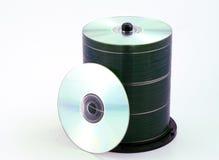 CD的堆 库存图片