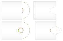 CD的封面纸一些 免版税图库摄影