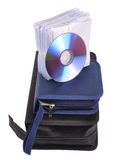 CD的工具箱路径 免版税库存照片