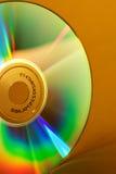 CD的彩虹 库存照片