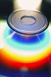 CD的彩虹rom 免版税库存图片