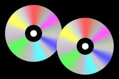 CD的技术 皇族释放例证